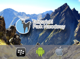 Multimedia and location-based app for Tatry National Park in Poland